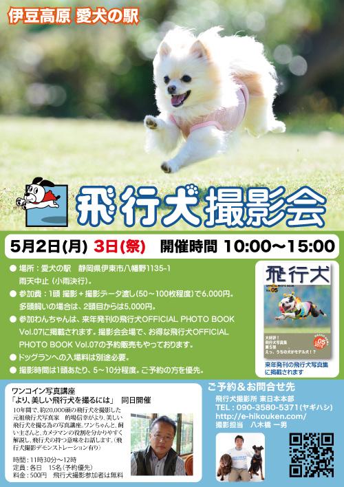 愛犬の駅飛行犬撮影会